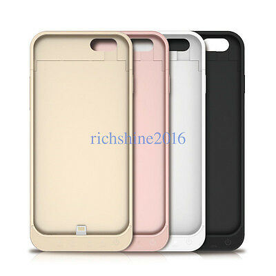 Protable External Battery Backup Charger Case Cover Power Bank For iPhone6 AB