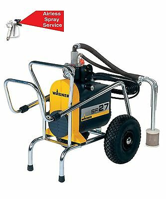 Wagner Sf27 Airless Paint Sprayer - 3 Ways - Special Order Only - Genuine