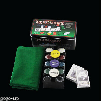 200 Baccarat Bargaining Poker Chips Set-Blackjack-Blinds-Dealer - Poker Card