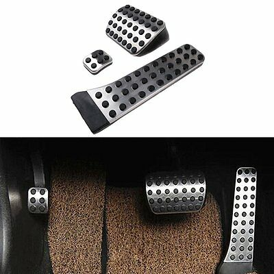 Drill-Free Accelerator Fuel Brake Stainless Steel Sport Pedals for Mercedes Benz