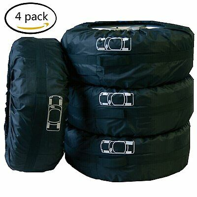 """Car Seasonal Spare Tire Storage Protection Cover Carry Tote Bag for 16""""-22"""" Tyre"""