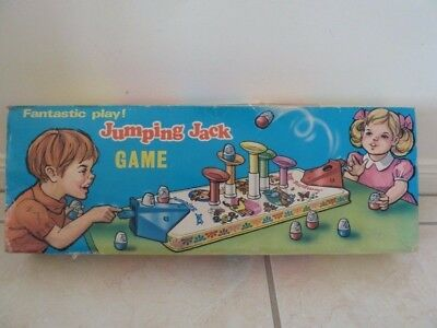 1970's Vintage Jumping Jack Boxed Game Complete & Working