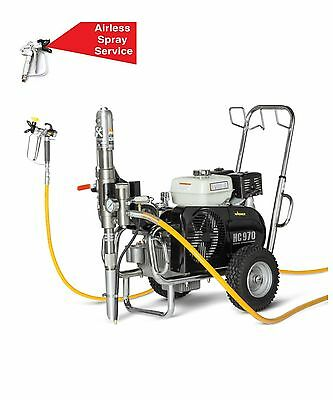 Wagner Hc970G Petrol Airless Paint Sprayer - Special Order Only - Genuine