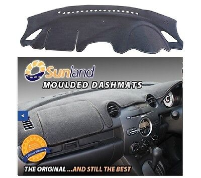 Dashmat Moulded Black for Mazda 3 11/13-On BM BN Sedan & Hatch Dash Mat