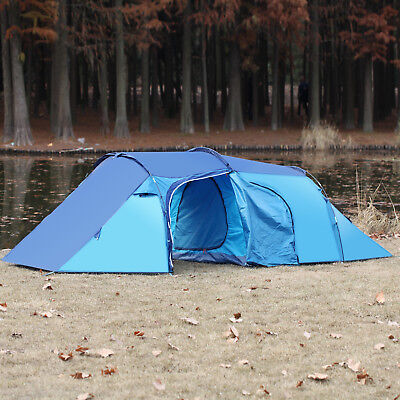 Tent Outdoor Family Camping Hiking 4 Person Sport Travel Waterproof