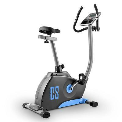 Blue Exercise Bike Fitness Bicycle Home Workout Cardiovascular Training Machine