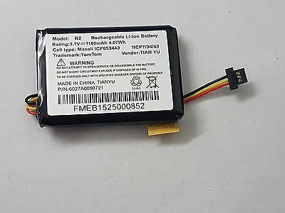Replacement battery for TomTom One XL Traffic, TomTom One XL Europe ,TomTom XL30