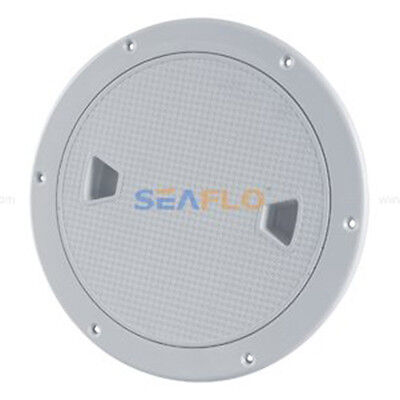 """SEAFLO 8"""" Boat Round Deck Inspection Access Hatch With Detachable Cover 250 U5V3"""