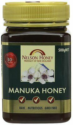 Nelsons Active Manuka Honey 30+ 500g
