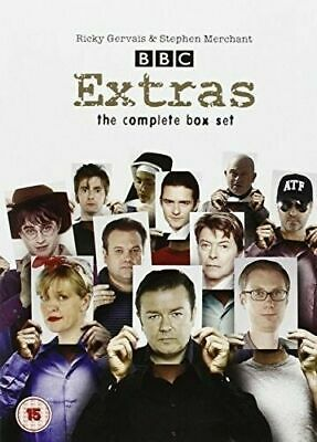 Extras Complete Collection Box Set DVD Ricky Gervais Ashley Jensen UK Rel New R2