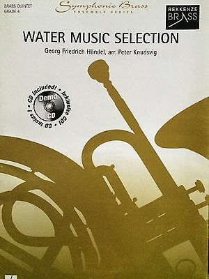 Händel & Knudsvig -Water Music Selection - Brass Quintet Grade 4