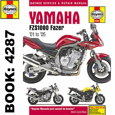Yamaha FZS1000 Fazer 2001-05 Haynes Workshop Manual