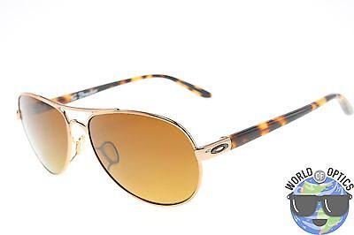 cb38d0c026e Oakley Women s Sunglasses Tie Breaker OO4108-04 Tortoise W  Bronze Polarized