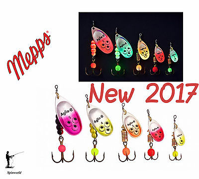 Mepps E spinner new for 2017 Variety colours & sizes - 1st class post