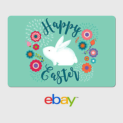 eBay Digital Gift Card - Happy Easter - Email delivery