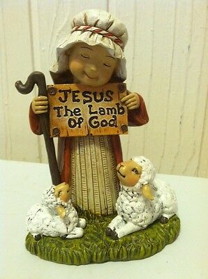 jesus the lamb of god 2012 promise of christmas decor shepherd Hobby Lobby
