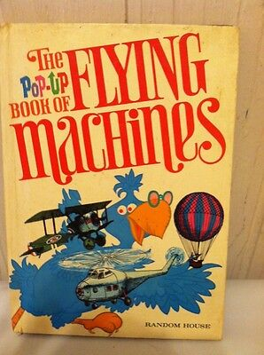 Pop-Up Book of Flying Machines by Miller & Taylor the Random House Hardcover