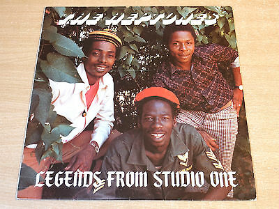 EX-/EX- !! The Heptones/Legends From Studio One/Trench Town LP