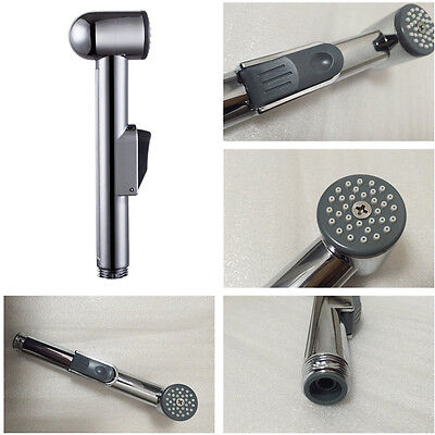 Toilet Hand Held Bidet Shattaf Cloth Diaper Sprayer Shower Head