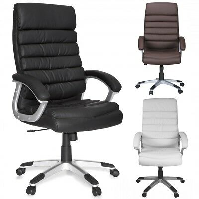 FineBuy office chair VALO artificial leather desk chair executive chair X-XL