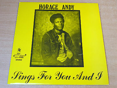 EX/EX !! Horace Andy/Sings For You And I/1978 Clocktower LP