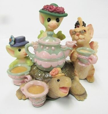 "Pocket Dragon  ""Tea and Gossip "" by Real Musgrave ~ MINT New in Original Box"