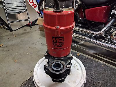"""USED MQ Multiquip ST2040T Submersible Trash Pump - 2"""" 115V - 1HP 79 GPM 2/3 HP"""