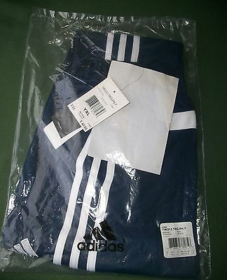 Adidas youth X-Large training pants, navy and white, new with tags.