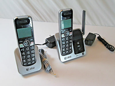 AT&T CRL81212 DECT 6.0 Phone with Caller ID/Call Waiting, 2 Cordless Handsets,