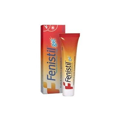 FENISTIL Gel 30g - Painful Sunburn, Skin Itch Insects, Stings, Pruritic Rash NEW
