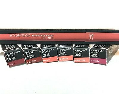 SMASHBOX ALWAYS SHARP LIP LINER   (: You Choose :)  NEW IN BOX