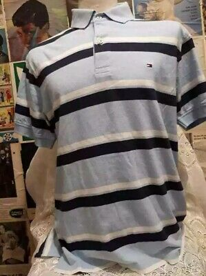 polo TOMMY HILFIGHER tgl M  maglia originale vintage Shirt Jersey Tricot