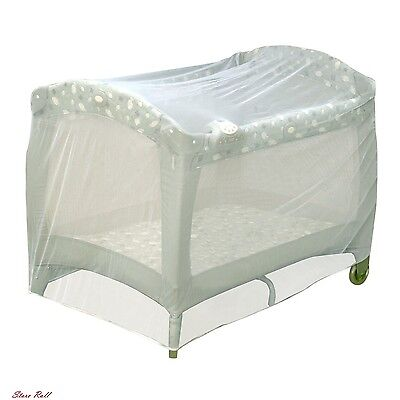 Baby Playpen Mosquito Net Tent For Crib Play Yard Kid Insect Mesh Safety Cover