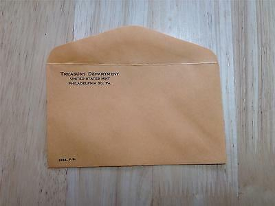 Coin Supplies- 1963 US Proof Set Envelope New with Undisturbed Glue Free US Ship