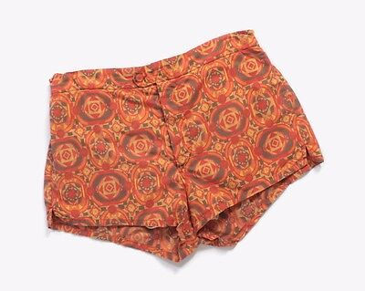 VTG 60s MEN'S Hawaiian Tribal Print Jantzen Shorts Swim Trunks S - M