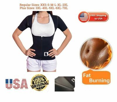 Weight Loss BODY SPA sauna Vest with Sleeves  waist trainer USA Neoprene 2.5 mm