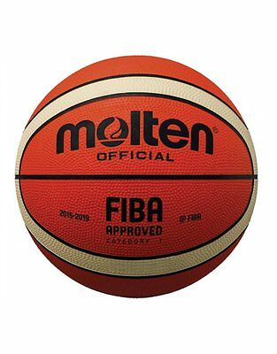 Molten BGS1-OI Mini Rubber Series Fiba Approved Promotional 12 Panel Basketball
