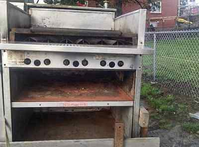 """Magikitch'n Gas 24"""" Commercial Charbroiler Grill"""