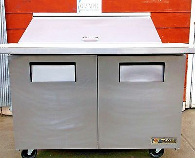 True Mega #TSSU-48-18M-B Top Sandwich/Salad Unit w/Cutting Board Reconditioned