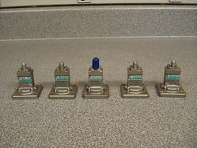 Lot of 5 ATM Microwave SMA To WR62 12.4-18.0GHz Endlaunch Adapters 62-201B-6