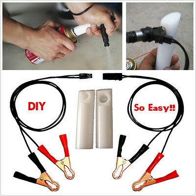 Autos New DIY Fuel Injector Flush Cleaner Adapter Car Vehicle Cleaner Tool Kits