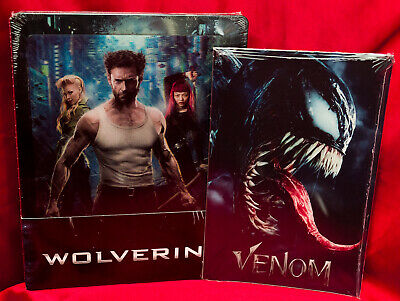 X-Men: The Wolverine (2014) Lenticular Steelbook Blu-Ray+ Marvel Venom Art Cards