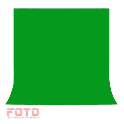 Green Screen Chroma key  1.6 x 3M Background Backdrop for Studio Photo lighting