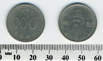 South Korea 1983 - 100 Won Copper-Nickel Coin