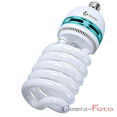 Photo lighting studio Daylight Spiral CFL  Bulb 85W (425W) 5500K E27 230V Lamp