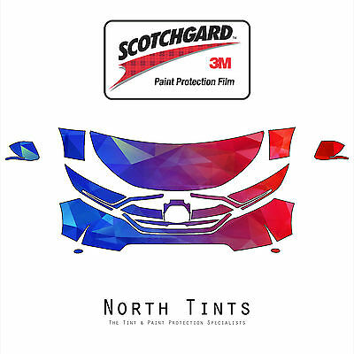 Honda CRV 2017 PreCut 3M Scotchgard Paint Protection Film Clear Bra Kit