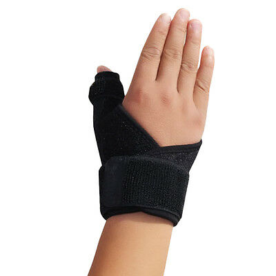 Elasticated Thumb Support Brace Reduces Pain From Thumb Sprains HZ005