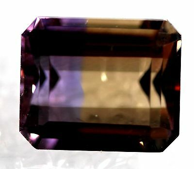 Genuine Natural Ametrine Emerald Shape Faceted AM-60