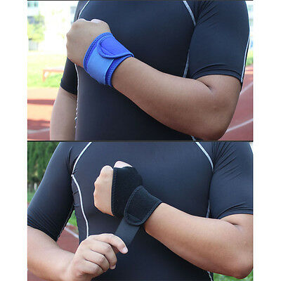 Sports Breathable Adjustable Wrist Brace Wrist Band Strap One Size HW007