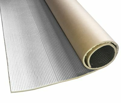 Sound Deadening Insulation Mat adhesive Thermo and Acoustic 0 5/16in 1x1m 1m²